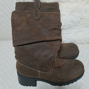 Slouchy Mudd Boots Size 8.5